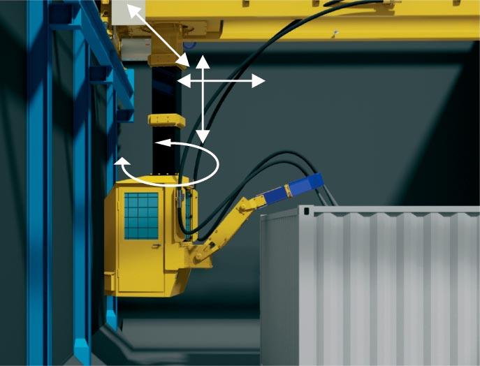 Nuevos robots blastman con cabina de control mpa for Cabina con avvolgente portico